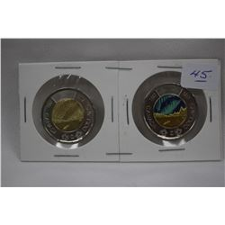 Canada Two Dollar Coins (2)