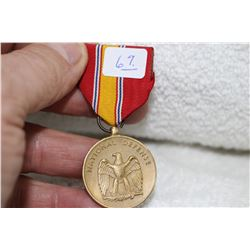 American 'National Defence' Medal