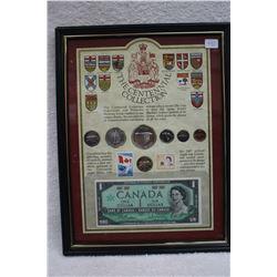 Canada Centennial Coin & Bill Set (1)