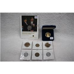 Canada Commerative Coins (8)