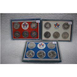 Canada XI Commonwealth Games Medallions Set