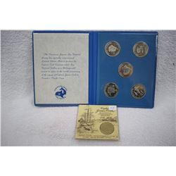 Canada Medallions (5) & Map