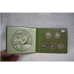 Set of Greenpeace Dollars (5)