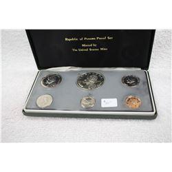 Republic of Panama Proof Set (6 Coins)
