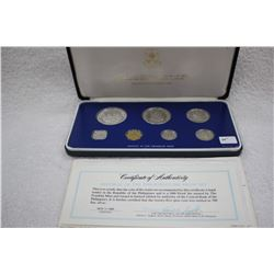 Republic of the Philippines Proof Coin Set (7 Coins)