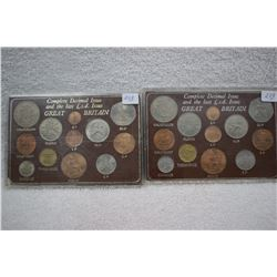 Great Britain Complete Decimal Issue (11 Coins)