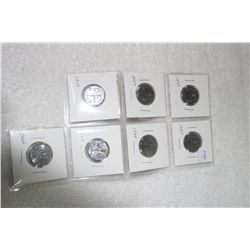 Canada Five Cent Coins (7)