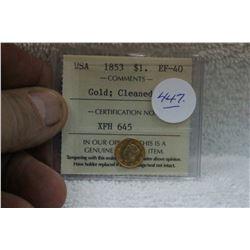 U.S.A. Gold Coin