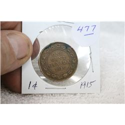 Canada Large One Cent Coin (1)