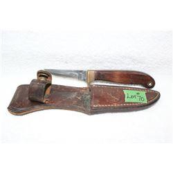 Vintage Olsen - Ok Brand - with Leather Sheath