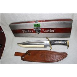 Timber Rattler - with Leather Sheath - Like New