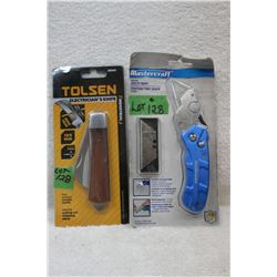 2 Knives - Utility and Electricians - New