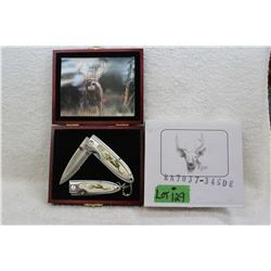 2 pc. Folding Gift Set - Deer - New