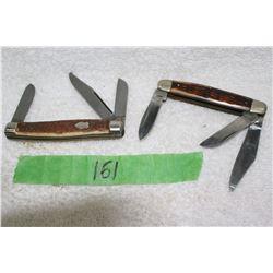 2 - 3 Blade Lock Blade Knives