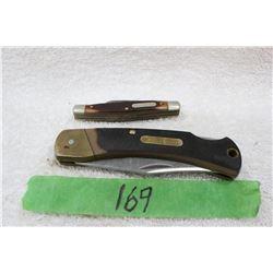 2 Schrade Old Timer Lock Blade