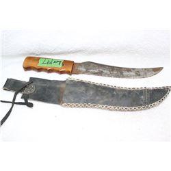 "Handmade Knife - Stamped ""Baron"""