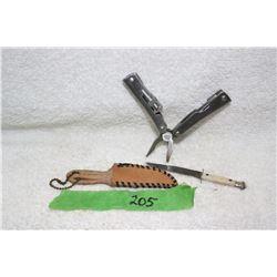 2 Miniatures - 1 Multi-Tool & 1 Knife
