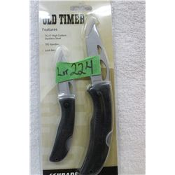 Schrade Old Timer - 2 Knife Set - New