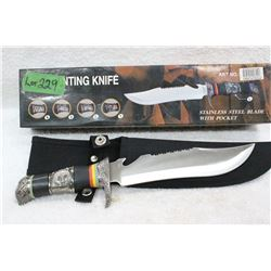 Hunting Knife with Fancy Handle - New