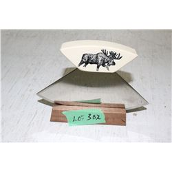 Ulu Knife and Stand
