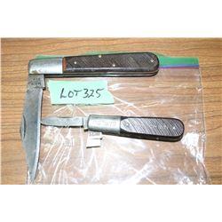 2 Barlow Knives