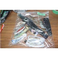 Bag of Damaged Knives