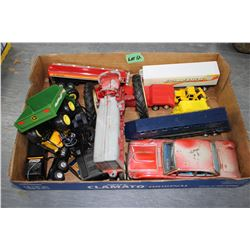 Flat of Miscellaneous Toys
