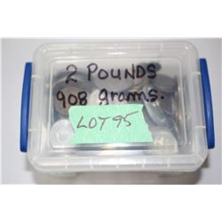 1 - 2 lb. Container of Foreign Coins