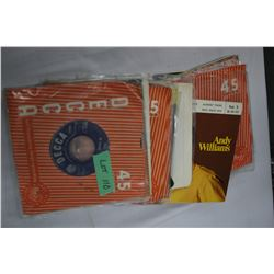 25 - 45 RPM Records