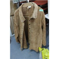 Leather Welder's Jacket