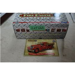 Die Cast 1936 Seagrave Sweet-Heart Fire Truck
