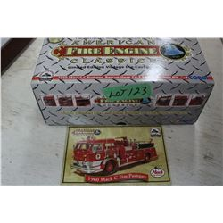 Die Cast 1960 Mack C Fire Pumper Truck
