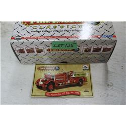 Die Cast 1952 Ahrens Fox HT Fire Truck