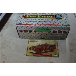 Die Cast 1956 Maxim Fire Pumper