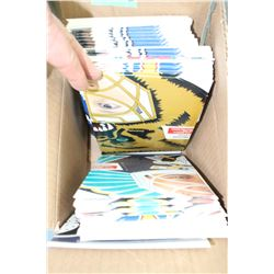 Box of Cardboard Cut Outs