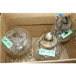 3 Oil Lamp Fonts