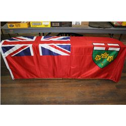 New Ontario Flag - Made in Canada