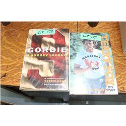 Gordie Howe & Terry Fox Books
