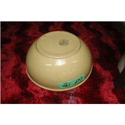 Medalta Potteries Maple Leaf Bowl