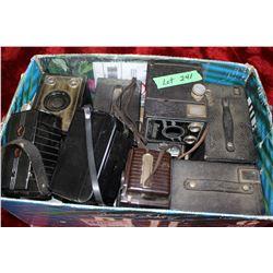 Box of 12 - 1950's Box Cameras