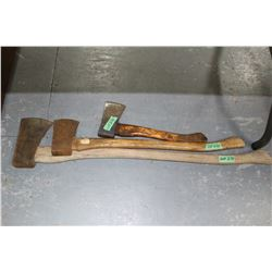 3 Axes with 3 Different Length Handles