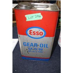 1 Gall Esso Gear Oil Tin