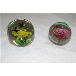 2 Paper Weights - Nicely Designed