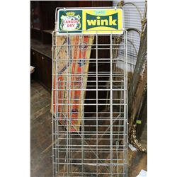Canada Dry/Wink Beverage Bottle Stand