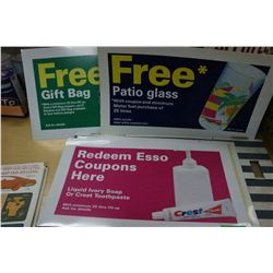 7 Plastic Promotional Signs