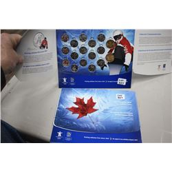 2 Complete Sets of Vancouver 2010 Olympic Coins