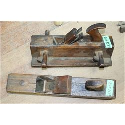 Antique Block Plane for Making Tongue & Groove & an Old Wood Block Plane