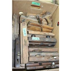 Box of Old Molding Planes