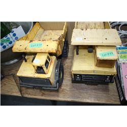 2 Tonka Trucks