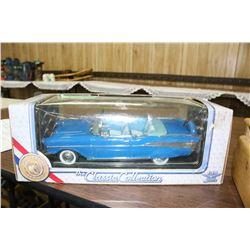Classic 1957 Chev. Belair Convertible Model
